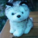 ตุ๊กตาหมา Husky