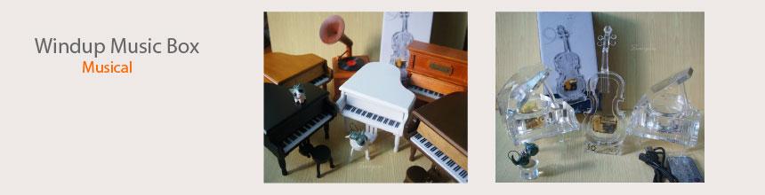 Musical Instrument Music Box